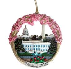 ornament washington dc monuments ceramic