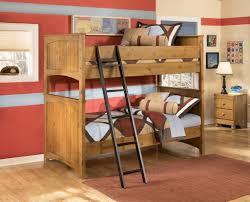 Wooden Bunk Bed Design by Bedroom Terrific Kid Bedroom Decoration Using Wooden Black Bunk