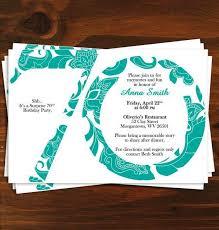 best 25 70th birthday invitations ideas on pinterest 70