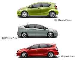 Toyota Prius Interior Dimensions Prius Vs Prius C Vs Prius V What U0027s The Difference Miller