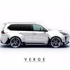 lexus lx years lexus lx570 body kit verge soon will begin selling on behance