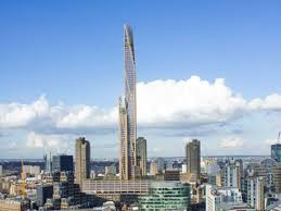 the toothpick wooden skyscraper on top of barbican could become