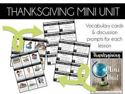 social studies k 1 thanksgiving then now traditions mini unit