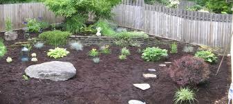 Brick Patio Diy Landscape Garden And Patio Low Maintenance Simple Backyard