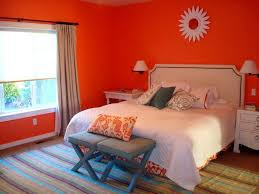 Red Bedroom Accent Wall - bedroom burnt orange accent wall bedroom 916371010201710 burnt