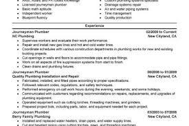 hvac technician resume free pdf template  hvac resume templates     plumber resume