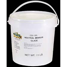 amazon com neutral mirror glaze sugar 11 lb sugar products