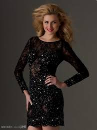 Black Homecoming Dresses With Sleeves Tight Black Homecoming Dresses With Sleeves Naf Dresses