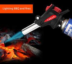 Outdoor Gas Torch Lighting Outdoor Bbq Flame Gun Camping Gas Torch Flamethrower Welding Fire