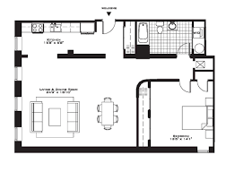 Small 1 Bedroom Apartment Layout Emejing One Bedroom Apartment Floor Plans Ideas Decorating