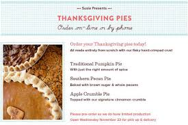 susiecakes signage now up thanksgiving pies available for pre