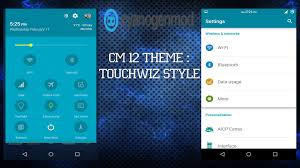 theme maker for galaxy s3 cm 12 theme touchwiz style youtube