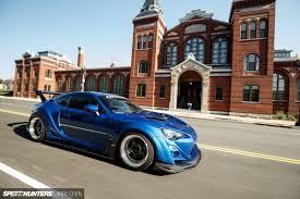 custom subaru brz wide body the brz sti that subaru won u0027t make speedhunters