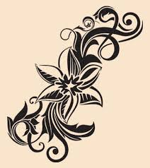 Flowers On Vines Tattoo Designs - flower vine designs vine and flower tattoos related keywords