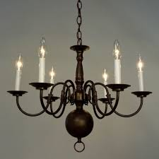 Williamsburg Chandelier Buy Classic Williamsburgs 6 Light Candle Chandelier Finish Oil