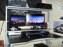 Gaming Desks by Desk Best Gaming Desks For Flawless Ultimate Gaming Desk Setup