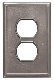 hton bay light switch covers brushed nickel switch plates and outlet covers best plate 2018