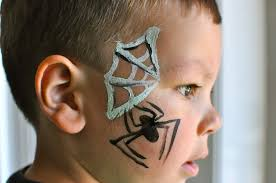 easy boy face painting designs for beginners