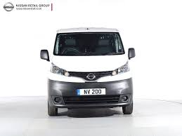 nissan nv200 nearly new nissan for sale nv200 1 5 dci acenta van white