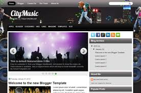 music blogger templates deluxetemplates