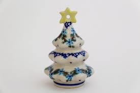 small christmas tree ornament figurine touch of poland