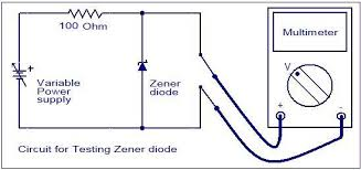How To Bench Test An Alternator How To Test A Diode Electronic Circuits And Diagram Electronics