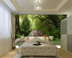 Wohnzimmer M El Von Roller Beibehang Individuelle Fototapeten 3d Stereo Tier Wald Tiger