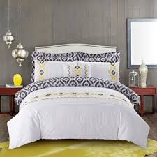 Grey And Yellow Duvet Gray And Yellow Duvet Cover Sweetgalas