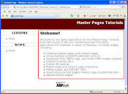 tutorial desain web pdf creating a site wide layout using master pages c microsoft docs