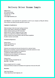 Commercial Truck Driver Resume Sample by Driver Job Resume Free Resume Example And Writing Download