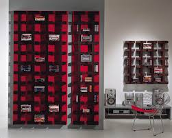 cd rack and dvd storage furniture produced by company vismara design
