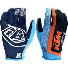 blue dirt bike boots troy lee designs 2018 air ktm tld team gloves at mxstore mxstore