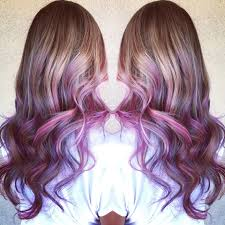 K He In Pink Unicorn Hair Pink And Purple Balayage By Genna Khein Www