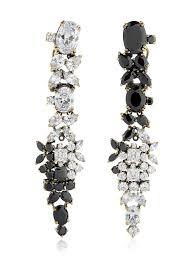 earrings brands iosselliani optical memento swarovski earrings black women fashion