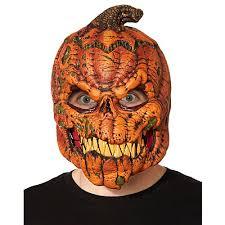 pumpkin mask orange pumpkin spirithalloween