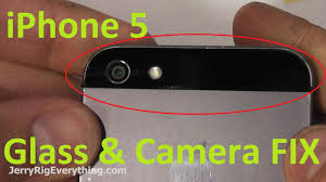 Glass Back by Iphone 5 Back Glass U0026 Camera Lens Replacement Easy Youtube