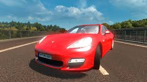 red porsche panamera 2017 porsche panamera turbo 2010 mod for ets 2