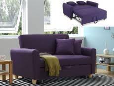 canapé convertible violet canape convertible pas cher violet prune chic et confort