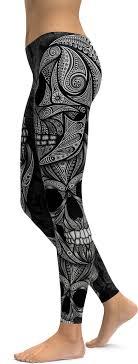 womens skull skeleton tights