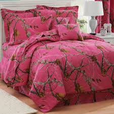 camouflage comforter sets xl twin size realtree ap fuchsia