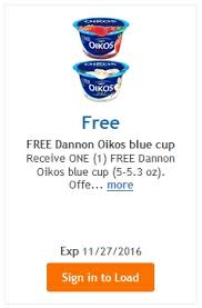 free dannon oikos yogurt load today fred meyer qfc
