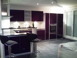 couleur cuisine blanche cuisine blanche mur aubergine 4 davaus couleur de mur pour
