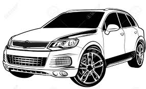 range rover vector car crossover suv royalty free cliparts vectors and stock