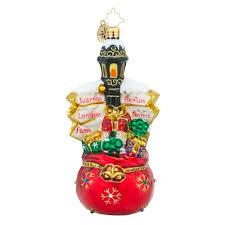 christopher radko ornaments radko european treasures destination