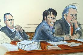 shkreli smirks during closing arguments by prosecutor at fraud trial