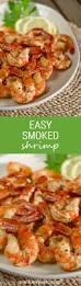 Simple Main Dish - easy smoked shrimp gluten free recipe cook eat paleo