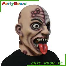 sale latex glowing vampire halloween horror party mask buy