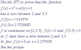 calc i examples for exam 1