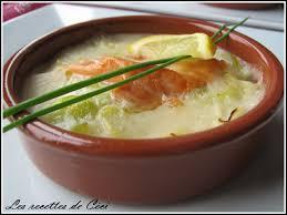 cuisine marmiton recettes entr cassolette de saumon sur lit de poireau les recettes de céci