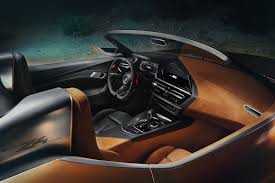 bmw dashboard at night bmw z4 concept pebble beach world debut by car magazine